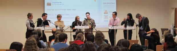 Erfolgreiches Podium am Bildungszentrum kvBL in Liestal