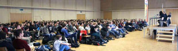 Erfolgreiches Podium am Gymnasium Oberwil