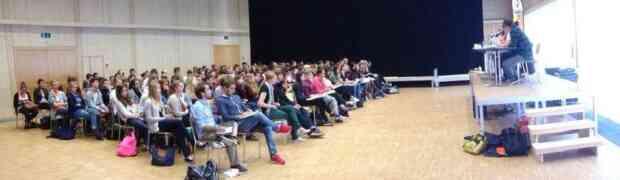 Podium zur Wehrpflichtsinitiative, Gymnasium Oberwil